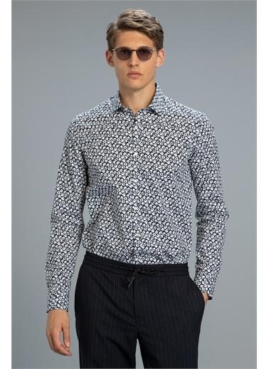 Lufian Hansen Smart Gömlek Slim Fit  Lacivert